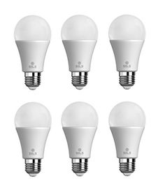 SELS LED LED light bulb 10W 100W Equivalent Daylight A19 LED Bulb  Non Dimmable UL Listed Suitable for Damp Locations Indoor and Outdoor Use  6 Pack