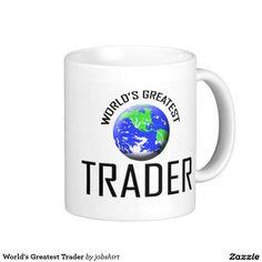 World's Greatest Trader Classic White Coffee Mug