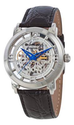 Stuhrling Original Men's 165.331554 Lifestyle 'Winchester' Skeleton Automatic Watch