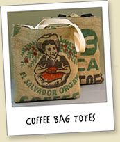 totes from coffee bags