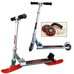 RAILZ Youth Street Snow Scooter more fun than sleds and snow toys Same fun as Railz youth snow scooter but comes with wheel kit -- For more information, visit image link. Lawn Equipment, Outdoor Power Equipment, Snow Toys, Kids Scooter, More Fun, Scooters, Dream Cars, Youth, Street