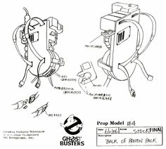 ghostbusters proton pack - Google Search