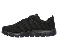 Skechers Men's Flex Advantage 2.0 Dayshow Memory Foam Sneakers (Black/Black)