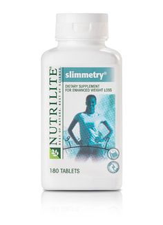 Enhances both fat loss and weight loss.  Boost your weight-loss efforts with NUTRILITE SLIMMETRY Dietary Supplement. In a 14-week clinical test, NUTRILITE SLIMMETRY Dietary Supplement users on a low-calorie diet lost an average of 5.4 more pounds of total body weight and 5.6 pounds of total body fat than those using a placebo.