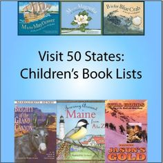 Lists of children's books by state (some states have more books on their lists than others)
