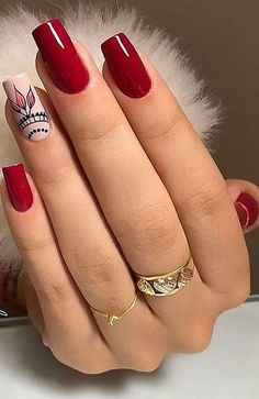 40 Stylish Easy Nail Polish Art Designs for This Summer for 2019 Part 10 - The most beautiful nail designs Flower Nail Designs, Diy Nail Designs, Simple Nail Art Designs, Beautiful Nail Designs, Cute Simple Nails, Perfect Nails, Cute Nails, Pretty Nails, Nail Polish Crafts