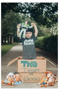 Toddler Boy Birthday, 2nd Birthday Party For Boys, Second Birthday Ideas, Toy Story Birthday, Birthday Games, Toddler Boys, Twin Birthday Themes, Baby Birthday, Cumple Toy Story