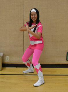Halloween 2014 DIY Kimberly The Pink Power Ranger  sc 1 st  Pinterest & Morph into a Power Ranger Costume the Fun Easy Way! | Coolest ...