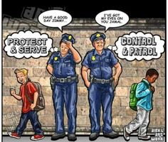 Police in America | This is wrong and it must change! #BlackLivesMatter