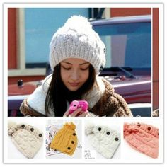 Free-Shipping2012-New-Wool-Knit-Hats-Beanie-For-Women-Winter-Warm-Knitting-Pattern-Skull-Caps-With.jpg 497×497 pixels