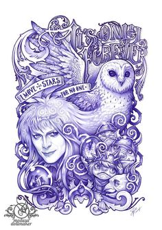 It's only forever JARETH LABYRINTH goblin king by MedusaDollmaker