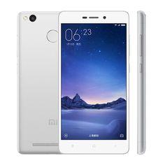 "Original Xiaomi Redmi 3S 3 S Mobile Phone Snapdragon 430 Octa Core 5"" HD 2GB RAM 16GB ROM 13MP Camera Metal Body Fingerprint ID"