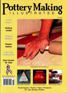Pottery Making Illustrated Fall 2001 Issue Cover