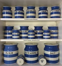 T.G.Green Cornish Ware Display. Image used for the 2017 Heritage Open Days advertisement.