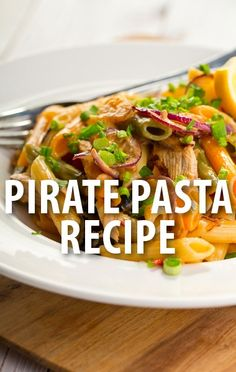 Giada De Laurentiis said she loved making Pirate Pasta for her kids, telling them that it was full of nutritious treasures. Get her Today Show recipe. http://www.recapo.com/today-show/today-show-recipes/today-show-giada-de-laurentiis-kid-friendly-pirate-pasta-recipe/