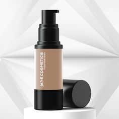 The oil free HD Liquid Foundation provides a medium to full coverage with a natural finish. It is long wearing and hydrating. It will effectively hide fine lines to ensure a smooth finish. This unique formula is both blendable and buildable, leavi. Organic Foundation, Liquid Foundation, Foundation Shade, Cool Undertones, Warm Undertone, Jane Cosmetics, Natural Glow