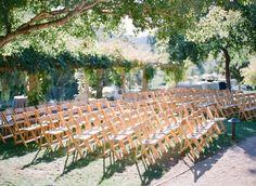 We adore our Herb Garden weddings. Perfect lighting, perfect natural setting! @Kara Delay -- Love This Day Events @TOAST   #weddingwednesdays #weddingsatojaivalleyinn Photography: Diana McGregor - www.dianamcgregor.com  Read More: http://www.stylemepretty.com/2015/02/12/romantic-ivory-grey-ojai-valley-inn-wedding/