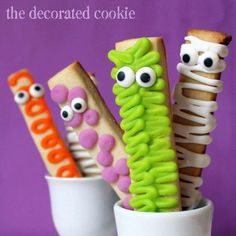 I love these guys! So cute and perfect for dunking!