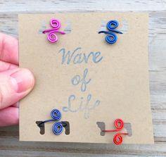 Toe Rings Upper Finger Rings 4 Pack Custom Colors by WaveofLife