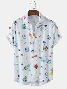 Slim Fit Casual Shirts, Men Casual, Half Sleeves, Short Sleeves, Camisa Floral, Funny Prints, Shirt Sale, Formal Shirts, Printed Shorts