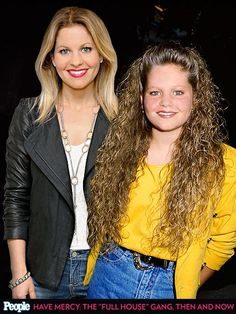 Candace Cameron Bure, 2013 and 1989