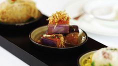 Lung King Heen. Hong Kong's most revered Cantonese restaurant is helmed by Chan Yan Tak, the first Chinese chef to earn three Michelin stars.