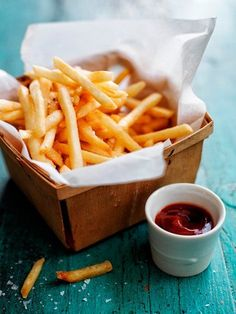 French fries and ketchup.  (Photo via chriscourt.com)