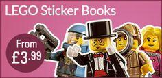 LEGO Sticker Books From £3.99 #TBPLEGOShop #LoveLEGO #LEGOSavings