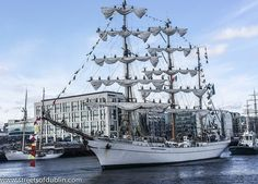 The Cuauhtemoc from Mexico: Tall Ships Set Sail From Dublin; the Capt & I toured in 2010 in Veracruz..