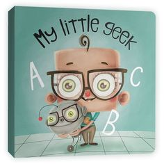 This is fantastic! Helps little baby geeks learn their letters.