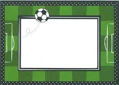 Resultado de imagen para invitaciones de cumpleaños para niños de futbol gratis #futboldibujos