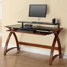 contempory wood desk - Google Search
