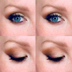 soft wedding makeup Soft smoke for blue eyes. Best Eye Makeup Brushes, Eye Makeup Tips, Makeup Inspo, Everyday Makeup Tutorials, Makeup Tutorials Youtube, Bronze Eye Makeup, Blue Eye Makeup, Beautiful Eye Makeup, Simple Eye Makeup