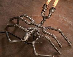 BBE concepteur éclairage industriel Steampunk Table lampe
