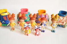Amaba estas muñecas