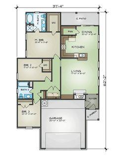 3 bedroom bungalow floor plans 3 bedroom bungalow design philippines rh pinterest com