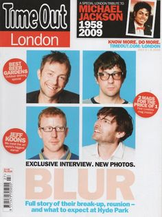 Just a bunch of fantastic Blur articles and interviews. Radiohead, Foo Fighters, Bon Jovi, Blur, Oasis, Graham Coxon, Damon Albarn, Britpop, Film Music Books