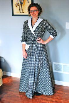 vintage housecoat pattern | Michelle, ma belle... très bien ensemble