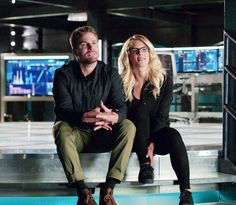 Oliver and Felicity #Arrow 06x04