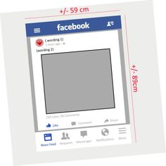 Personalised-Facebook-Photobooth-Frame-Photo-Booth-Props-Wedding-Birthday-Party