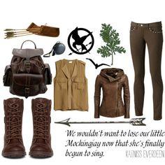 Fashion Inspiration; Katniss Everdeen