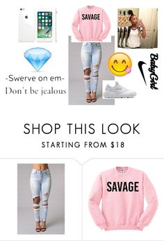"""Untitled #123"" by arianaraygada ❤ liked on Polyvore featuring NIKE"