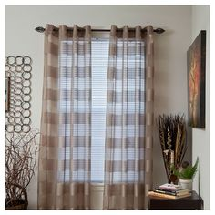Yorkshire Home Sofia Grommet Curtain Panel