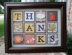 """My next class will feature this """"Give Thanks"""" sampler and 3 Fall-themed cards. The cards will be posted later this week, but you will use some of the same elements for the both the Sam…"""