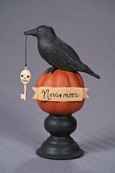 Nevermore by Jenene Mortimer ESC & Co at Vintage Halloween www.vintagehalloween.com/newadditions.html
