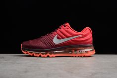 2477553f1 AIR MAX 2017 NIGHT MAROON WHITE GYM RED