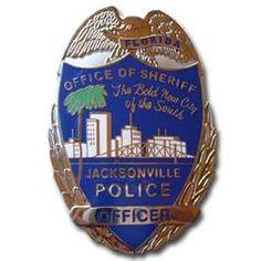 Jacksonville Sheriff's badge