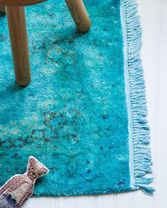 DIY Overdyed Rug.  I want to do this with the yucky rug downstairs...