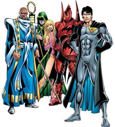 """Multiversity: The Tangent Universe.only 52 is soooooo limiting given all the possibilities and past established universes. """"Superman and Green Lantern. Comic Character, Character Concept, Character Design, Dc Comics, League Of Heroes, Superhero Design, Dc Characters, Hero Arts, Teen Titans"""