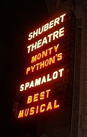 Spamalot - Wikipedia, the free encyclopedia Tony Award, Musicals, Neon Signs, Free, Musical Theatre